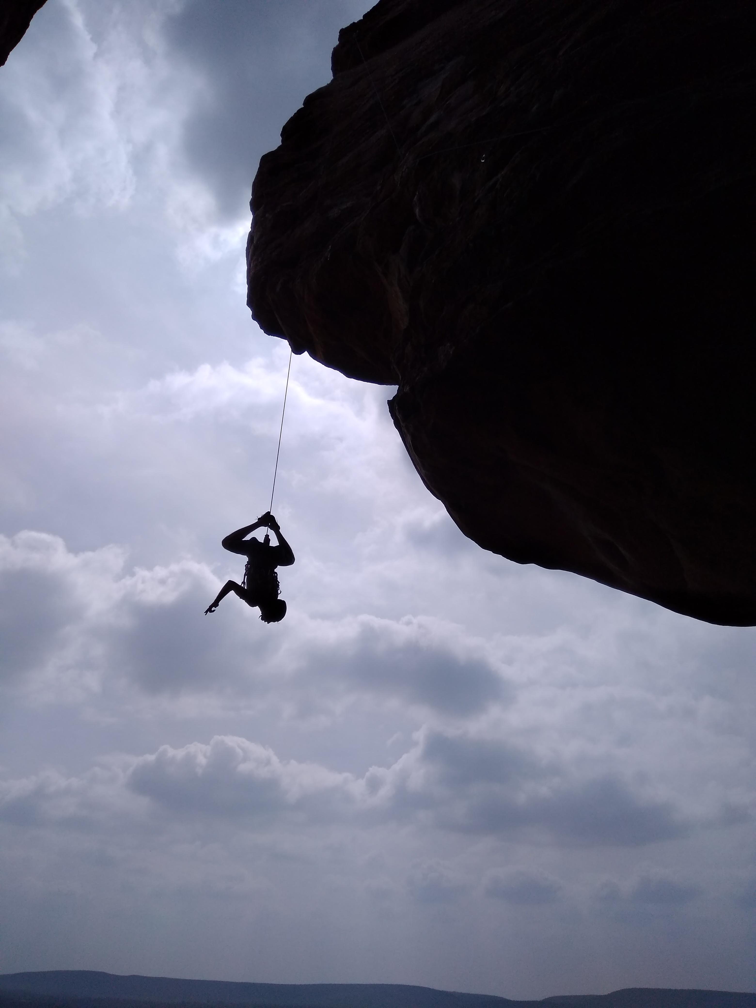 Rock climbing badami
