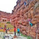Climbing badami